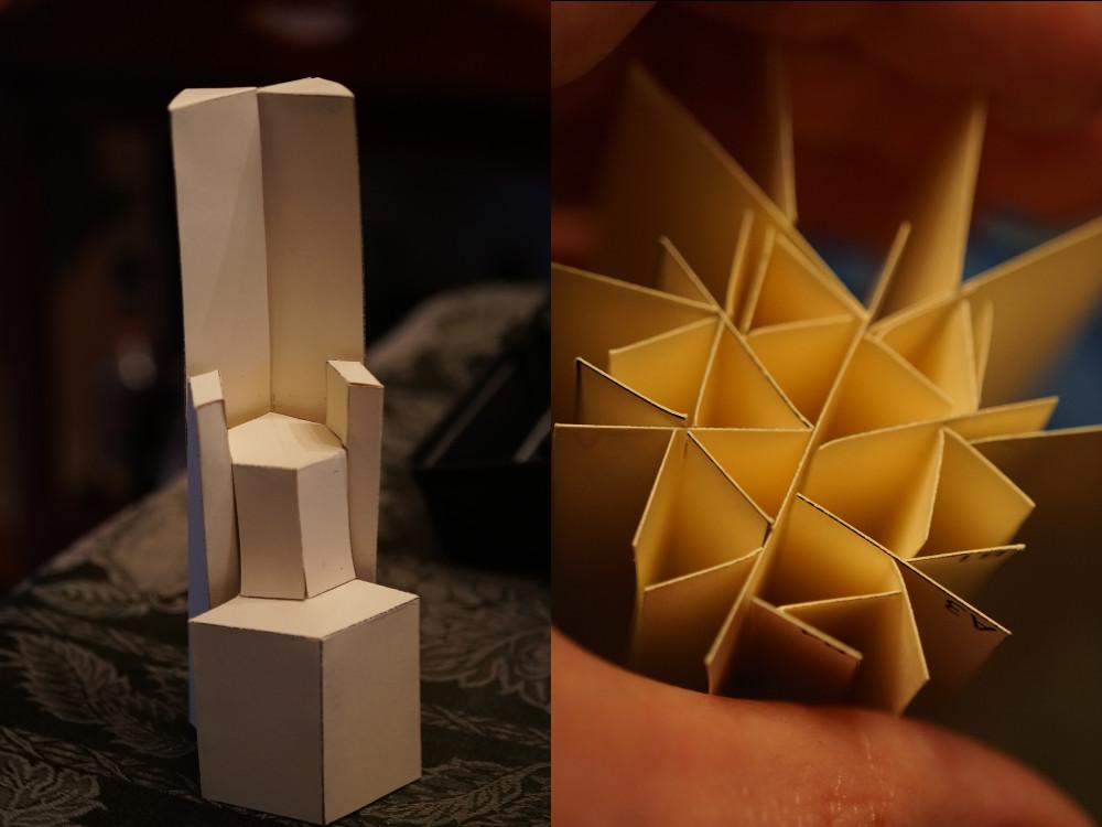 Cardboard Cathedra by Jason Bond